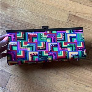 Handbags - Geometric clutch